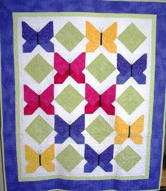Butterflies / Photo Gallery / Quilts For Kids