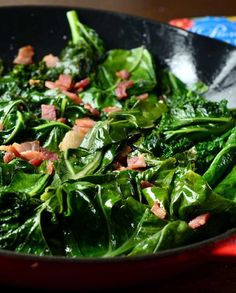 Collard Greens and Kale {Giveaway} Recipe yummy! I even forgot the garlic the first time and the flavor was still great-although you tasted more of the apple cider. I will make this again :)