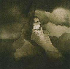 """Mário Botas, """"Retrato de Fernando Pessoa"""", 1982"""
