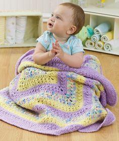 Baby Granny Three Ways Crochet Pattern | Red Heart