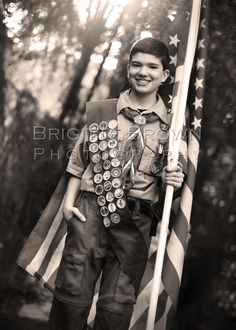 Eagle Scout  Boy Scout  American Flag