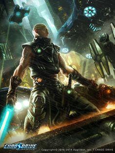 Sci-fi Assassin by INDUS (Yongjae Choi) | CGSociety