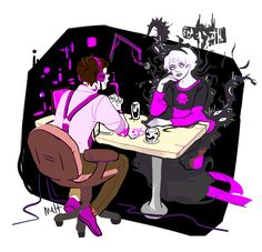 To be honest I think someone should make a series of videos or podcasts that show case Cecil interviewing characters from other fandoms. And there can be one where Dean and Sam come to like try and hunt Cecil and omg it would be perfect. Night Vale, Homestuck, Glow Cloud, The Moon Is Beautiful, Davekat, Fandom Crossover, Dog Park, Superwholock, Anime