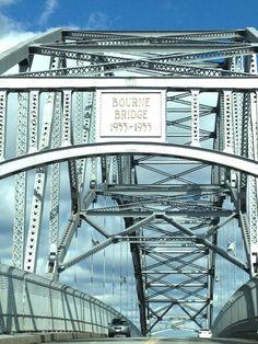 Bourne Bridge crossing the Cape Cod Canal