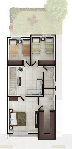 Casas en venta en Cumbres- Modelo Ibiza l Planta Alta
