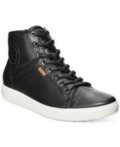 ECCO Mens Soft VII High-top Sneaker