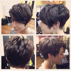 Short Pixie Cut by Marti