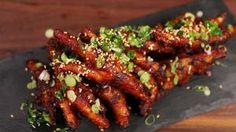 Korean Chicken Feet (Dakbal) Recipe and Video