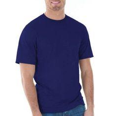 Gildan Big Mens Classic Short Sleeve T-Shirt, Men's, Size: 2XL, Blue