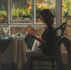 "Daily Paintworks - ""Irish Breakfast"" - Original Fine Art for Sale - © Susan Carlin"