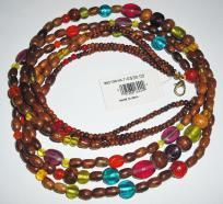 Multi Natural Beaded Necklace – RV $30 - Free Shipping $5.95