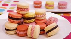 French Macarons Recipe: How To Make French Macarons: Step by Step: Dishi...