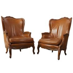 Louis 15th Style Bergere Chairs