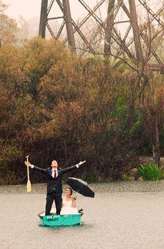 rainy #wedding