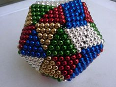 Nanodot Dodecahedron Multi Colour