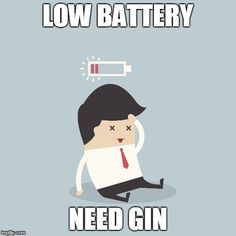 Low Battery: Need Gin Gin Lovers, Family Guy, Snoopy, Character