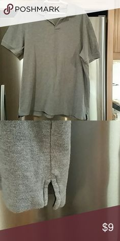 Men's shirt Men's 100% cotton shirt.  Worn a couple times. Sonoma Shirts