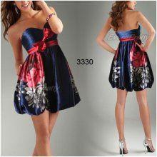 Ever Pretty Hravé společenské šaty s květy 3330