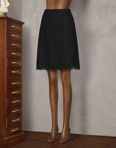 LACE FLARED SKIRT - Knee length skirts - Dolce&Gabbana - Summer 2014 $1195