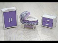 Diy Miniature Sleigh Crib Creating Dollhouse Miniatures