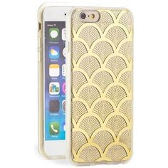 Women's Sonix 'Gold Lace' Clear iPhone 6 Case