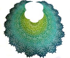 Ravelry: Mermaid Lair Lace Shawl pattern by Anna Victoria