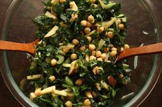 The Cure-All Cravings Kale Salad:  Worth Remembering « Tea & Cookies