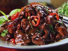 Look at this recipe - Three Cup Chicken with Garlic Spinach - from Ching-He Huang and other tasty dishes on Food Network. Chinese Chicken Recipes, Easy Chinese Recipes, Asian Recipes, Asian Foods, Ching He Huang Recipes, Three Cup Chicken, Food Network Recipes, Cooking Recipes, Chef Recipes