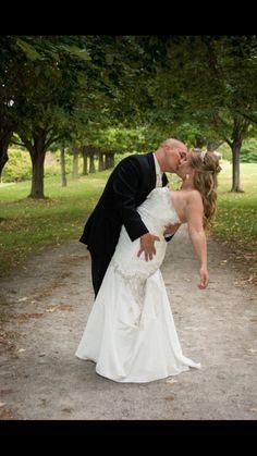 """The """"dip kiss"""" pic :)"""