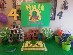 Hulk Birthday Party for kids