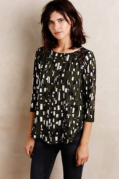 Almuda Top by Weston- anthropologie.com $88 #anthro #shoppingpipedream