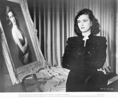 Joan Bennett in Fritz Lang's THE WOMAN IN THE WINDOW.