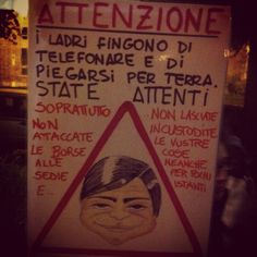 Attention please!