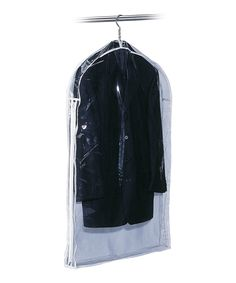 White Gusseted Suit Bag - I'd like to pick something like this up for my robes and stoles. Keep the dust off and such.