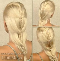 Game of Thrones style hairdo by Lilith Moon (I say it is GOT like, not here, just fyi!)http://www.lilithmoon.com/2012/12/according-to-eastern-calendar-year-2013.html And available on her youtube channel!