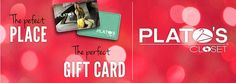 Are you looking for the perfect #ChristmasGift? Give the gift of #style with a #PlatosCloset gift card! #WantIt | www.platosclosetnewmarket.com