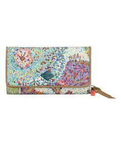 Look at this #zulilyfind! Blue Pastel Wallet #zulilyfinds
