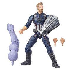 Best of Marvel Legends: Captain America Figure by Hasbro Shop Now @Superherotoystore