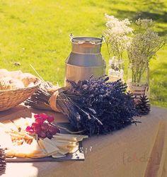 bouquets of lavender