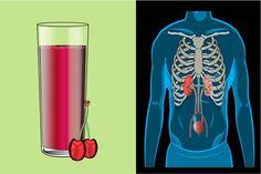 Ez történik a szervezetünkkel, ha minden nap megiszunk 1 pohár meggylevet! Tart Cherry Juice, Nutritious Snacks, Red Fruit, Drinking Water, Pint Glass, Tart Cherries, The Incredibles, Drinks, Soda