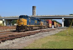 RailPictures.Net Photo: CSXT 983 CSX Transportation (CSXT) GE ES44AC at Jesup, Georgia by Christopher Rambo