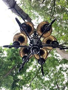 Trombone, Ceiling Fan, Home Decor, Decoration Home, Room Decor, Ceiling Fan Pulls, Ceiling Fans, Home Interior Design, Home Decoration
