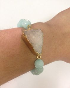 Crystal Druzy Bracelet Sally and Bea