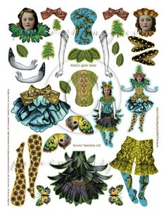 Fower Flaerie 003 PDF Fower Flaerie 003 PDF paperwhimsy The post Fower Flaerie 003 PDF appeared first on Paper Ideas. Victorian Paper Dolls, Vintage Paper Dolls, Cardboard Box Crafts, Easy Paper Crafts, Paper Puppets, Paper Toys, Libros Pop-up, Marionette, Paper People