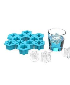 Snowflake Ice Cube Tray d'autres gadgets ici : http://amzn.to/2kWxdPn http://amzn.to/2rsjy6P