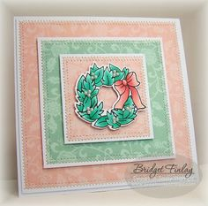 Sweet 'n Sassy Stamps: Pearly Wreath