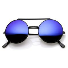 ec4c10cc360 Details about Men s Women s Round Shape Flip up Django Metal Gold Sunglasses  Red Mirrored