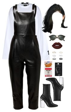 """""""05 November, 2016"""" by jamilah-rochon ❤ liked on Polyvore featuring Puma, Little White Lies, Christian Dior, Moschino, Topshop, Miss Selfridge, Lime Crime and Ray-Ban"""