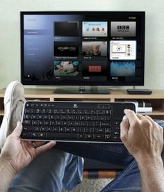 Logitech Revue and Google TV. Get Social, browse, watch Internet movies, 18,000 Internet radio stations all on your TV.