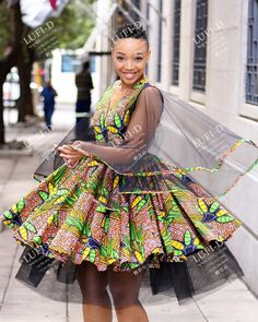 Short African Dresses, Latest African Fashion Dresses, African Print Dresses, African Print Fashion, Setswana Traditional Dresses, African Traditional Wear, Ankara Dress Designs, Stylish Work Outfits, Emo Outfits